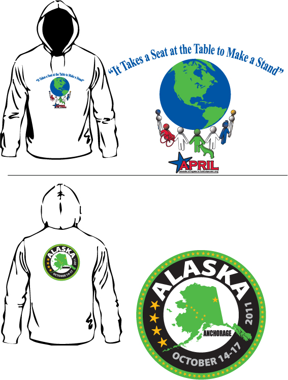 APRIL Alaska Hoodie - 30 contribution includes shipping