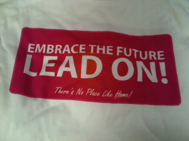 Lead On T-Shirt 20 contribution includes shipping